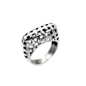MM M8-94 BASKET WEAVE RING