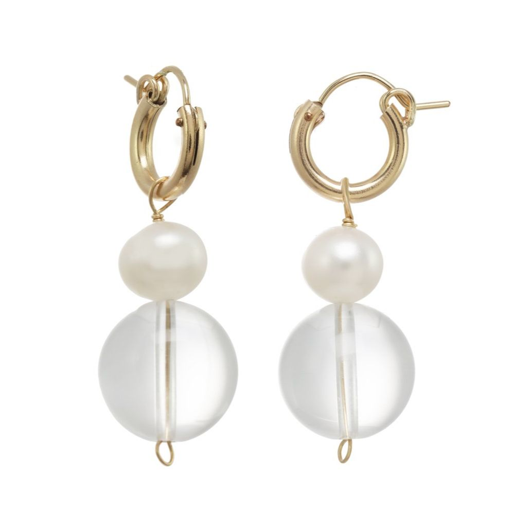 KO MILAE PEARL EARRINGS
