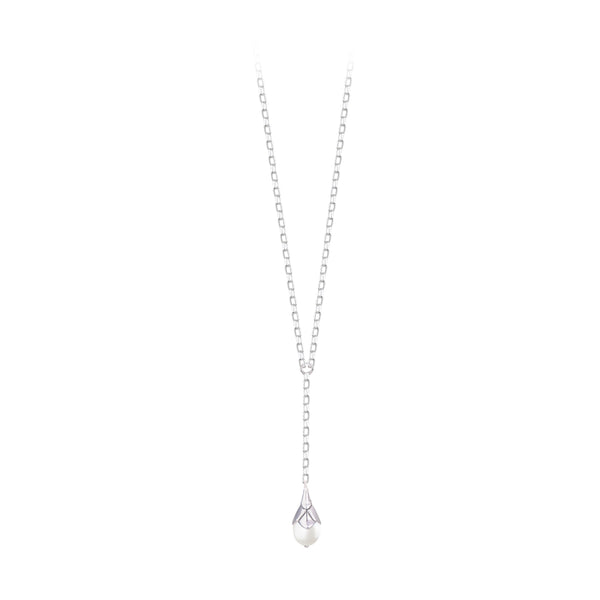 JD N64166 PEARL DROP NECKLACE