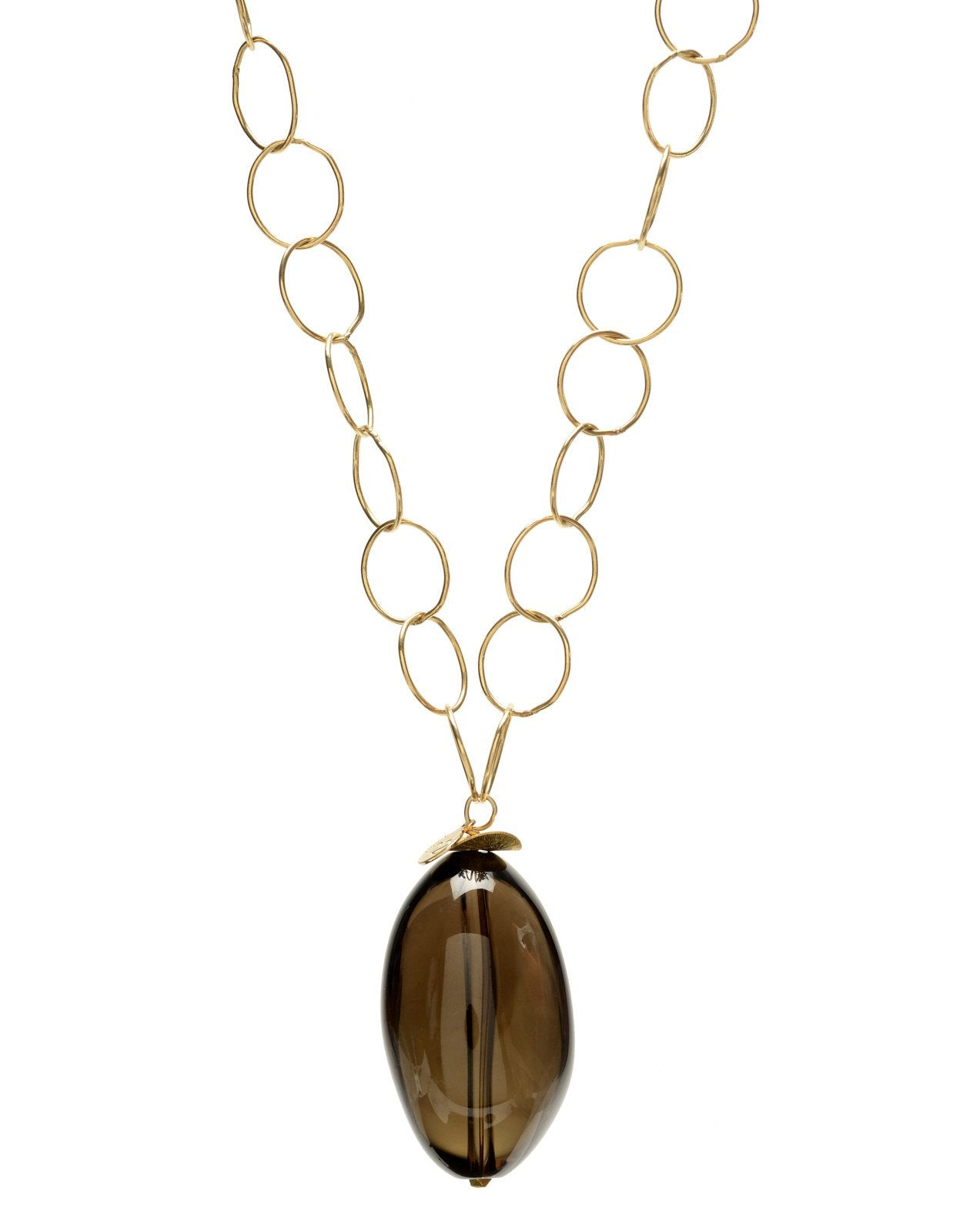 IN2 NINA SMOKEY QUARTZ NECKLACE