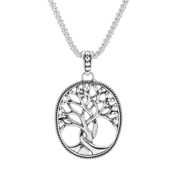KJ PPS9003 LARGE TREE OF LIFE NECKLACE