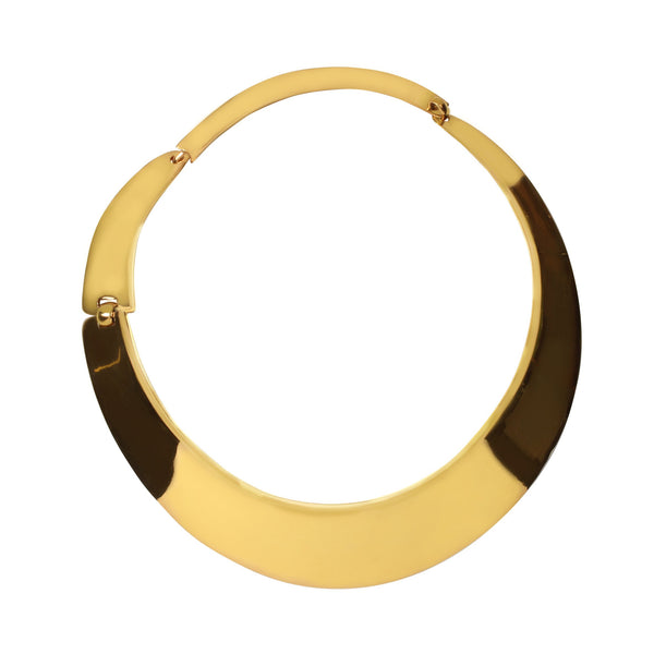 ARM LARGE GOLD HOOK COLLAR