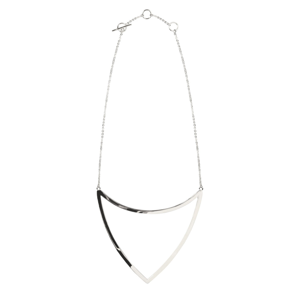 ARM OPEN TRIANGLE NECKLACE