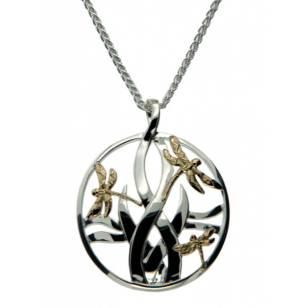 KJ PPX4802 LARGE DRAGONFLY NECKLACE