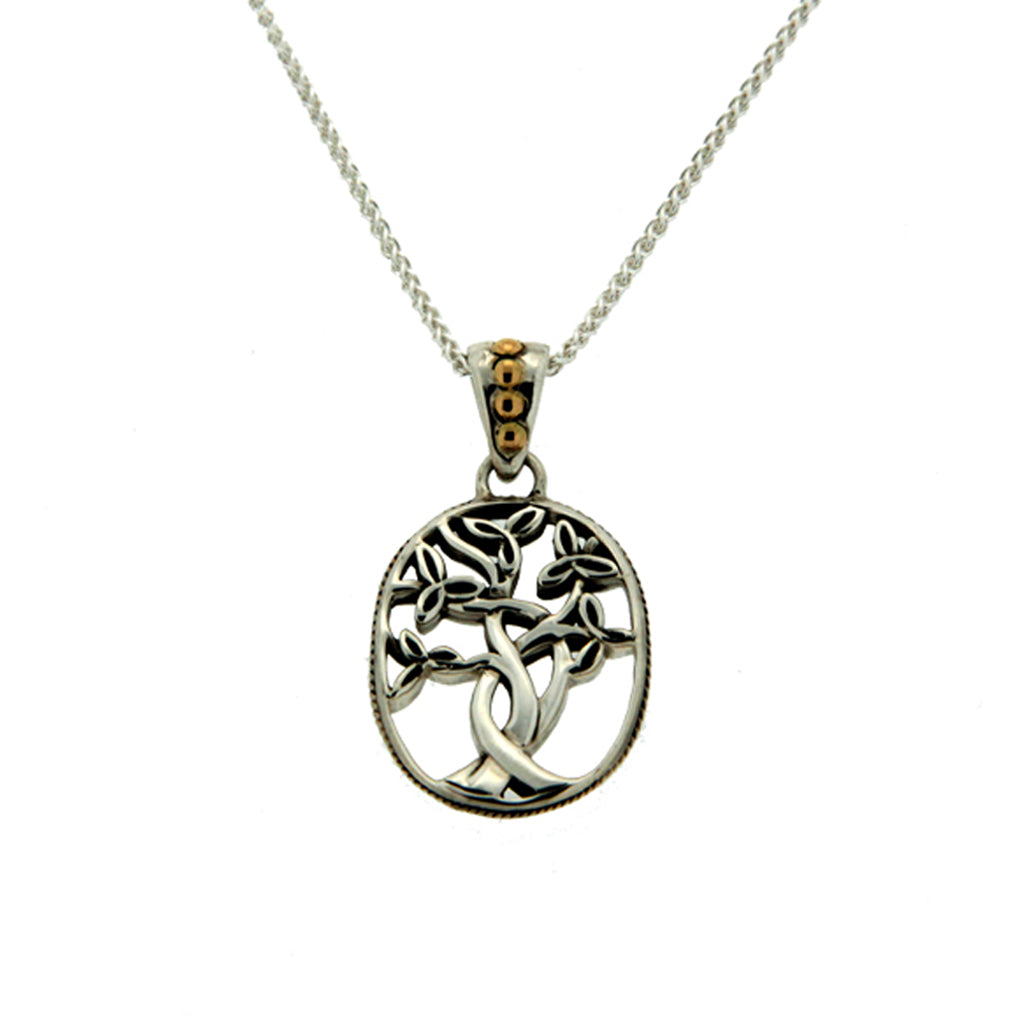 KJ PPX9010 SMALL TREE OF LIFE NECKLACE
