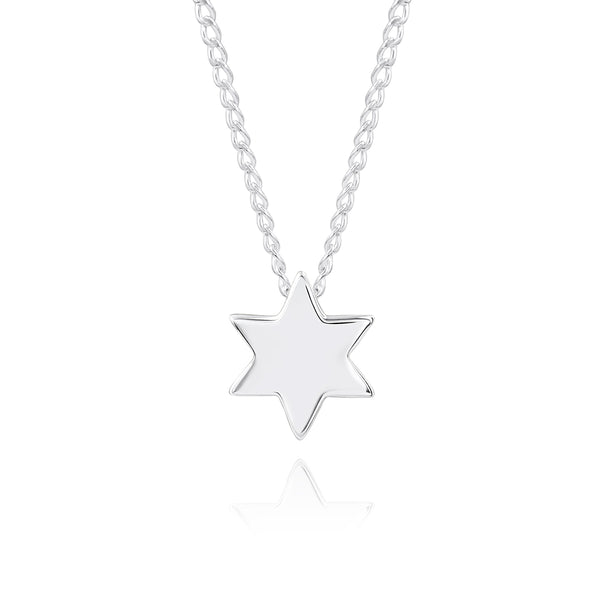 ZN X18S TINY STAR OF DAVID PENDANT
