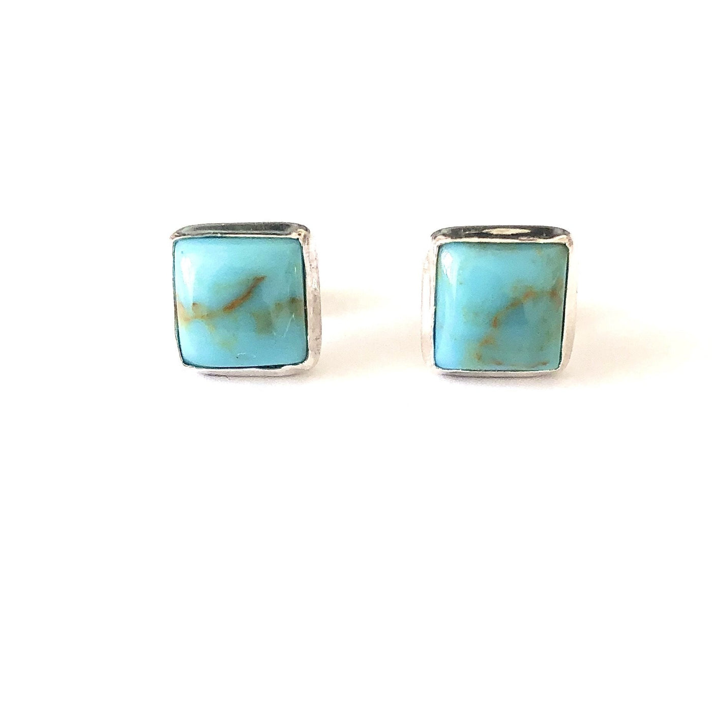 SP E538 SQUARE TURQUOISE POST