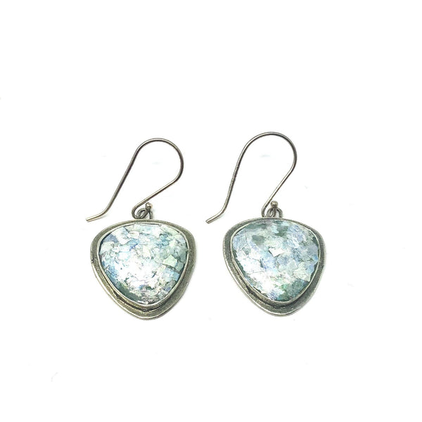 ASE2144057 ROMAN GLASS TRIANGLE EARRINGS