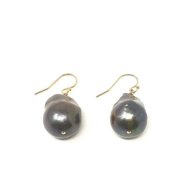 IN2 BAROQUE PEACOCK PEARL DANGLES
