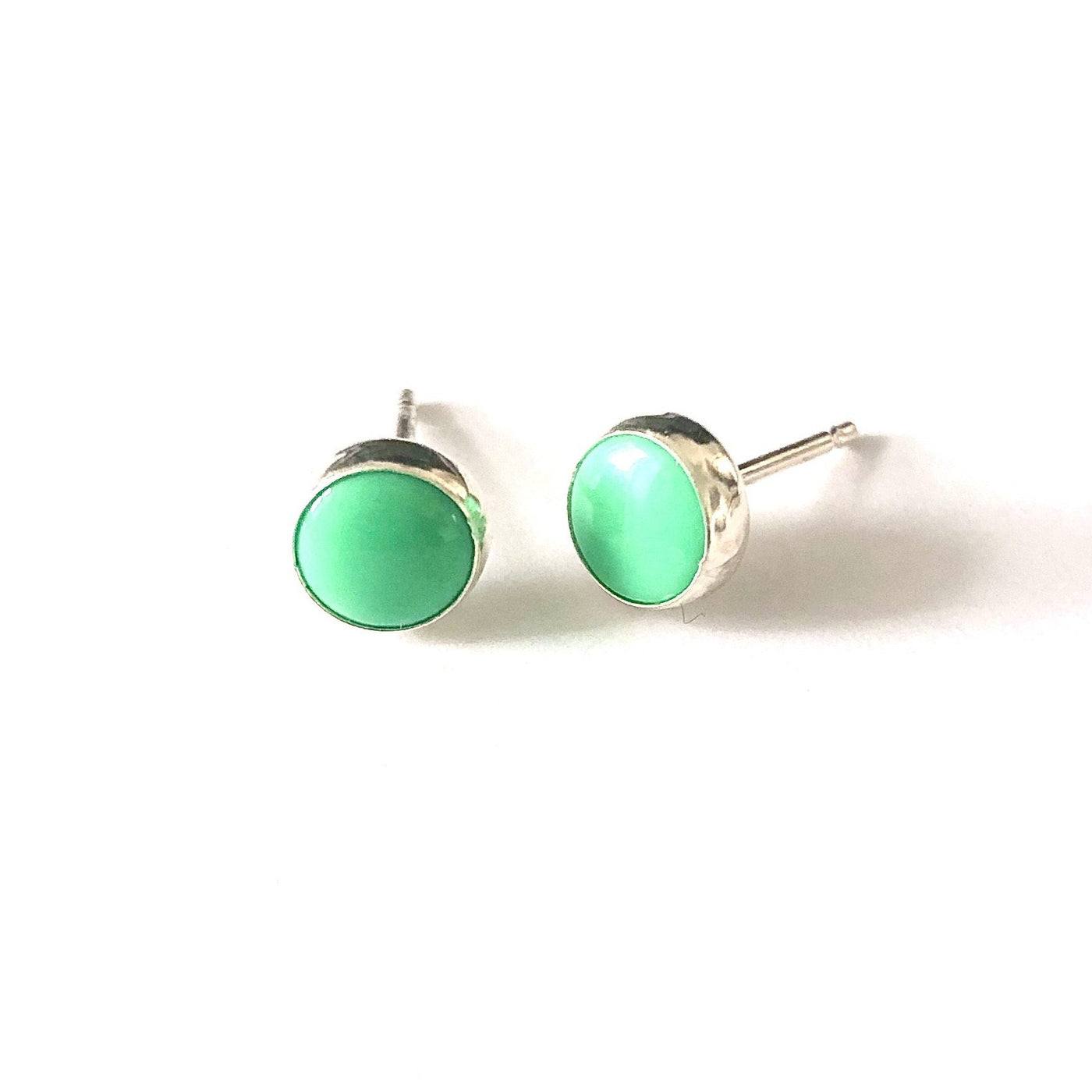 SP E410 GREEN TURQUOISE STUDS