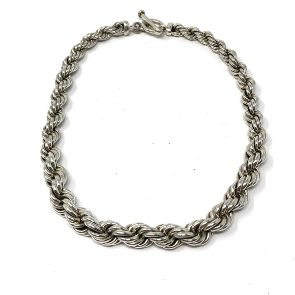 FM 127 GRADUATED ROPE NECKLACE