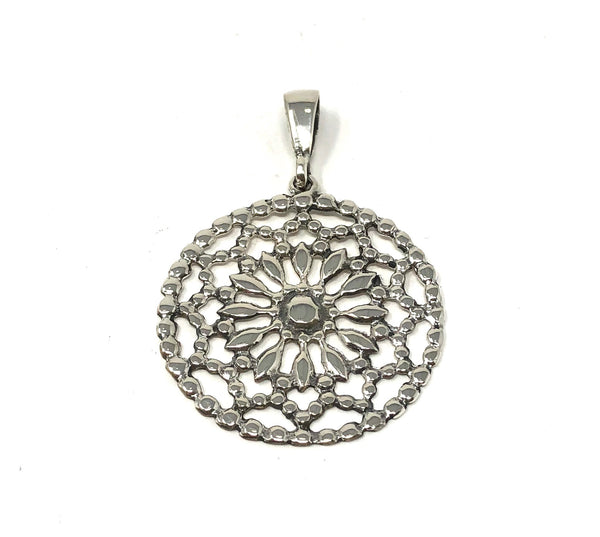 MM M2-222 MANDALA FLOWER PENDANT