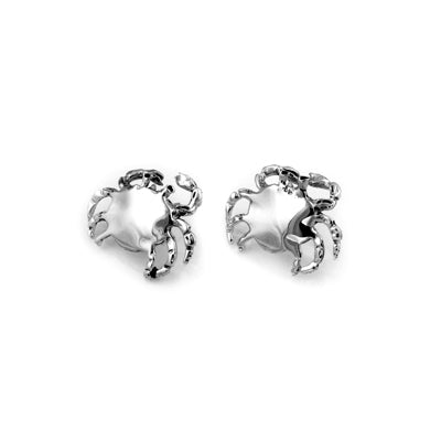 MM M1-1127 8 MEDIUM CRAB POST EARRINGS