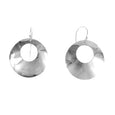 MM M1-764 3 SMALL OPEN GRADUATED CIRCLE DROP EARRINGS