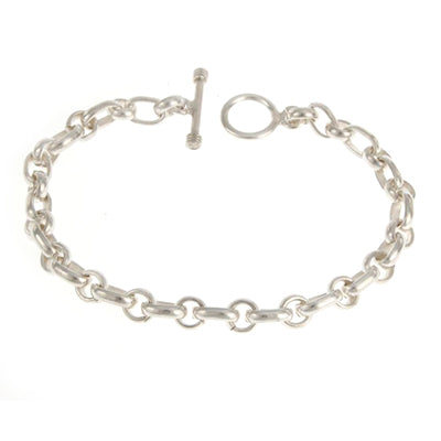 MM M3-265 OVAL AND CIRCLE LINK BRACELET