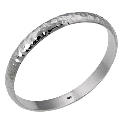 MM M5-203 HAMMERED BANGLE BRACELET
