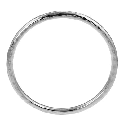 MM M5-294 HAMMERED TUBE BANGLE BRACELET