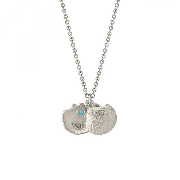 ALM OCN6S OPEN SHELL NECKLACE