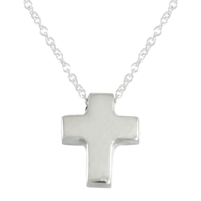 "PL P084 16-18"" SMALL CROSS NECKLACE"