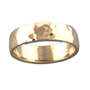 MST R99 THK GLD HAM BAND RING
