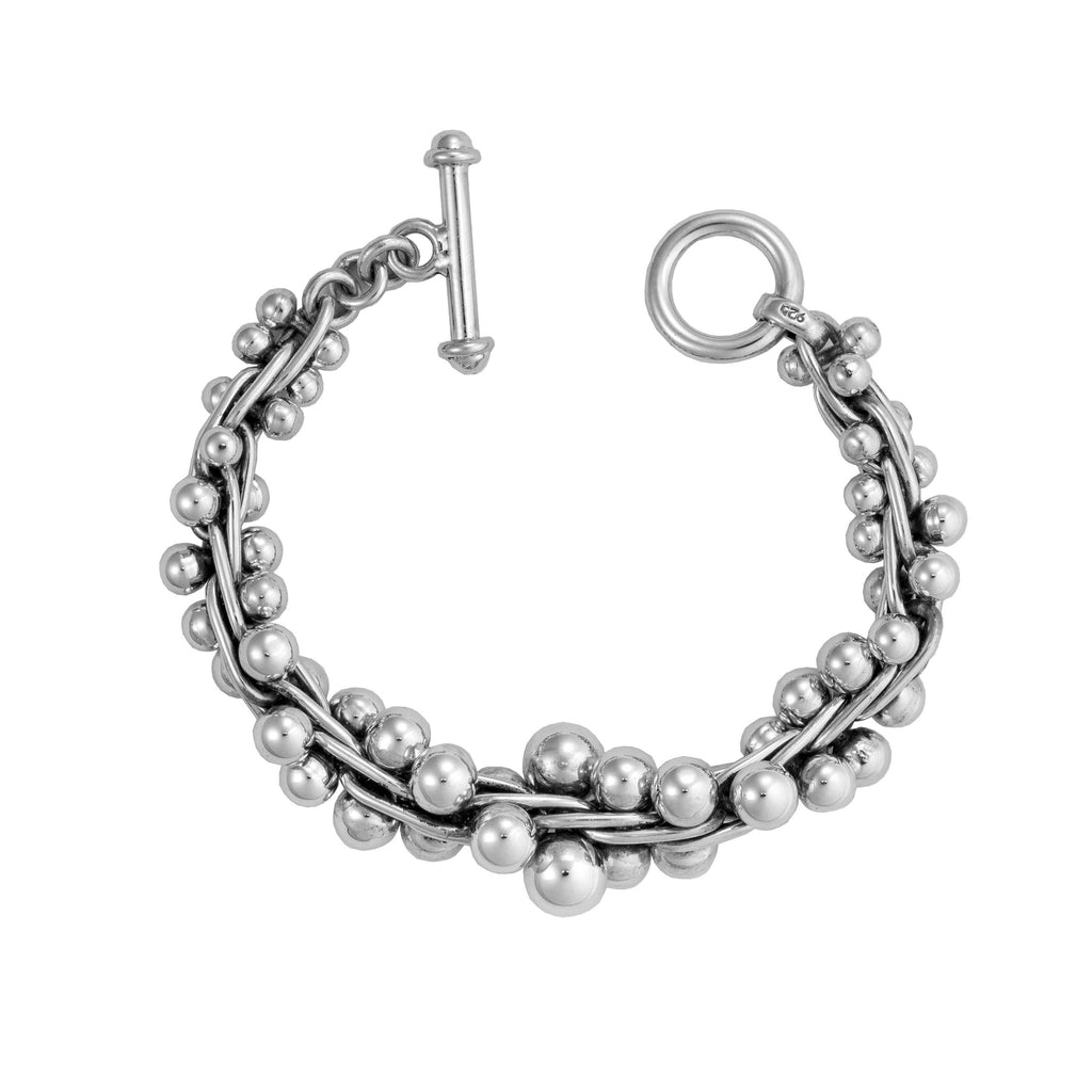 NE 84 LG GRADUATED SPRATLING BRACELET