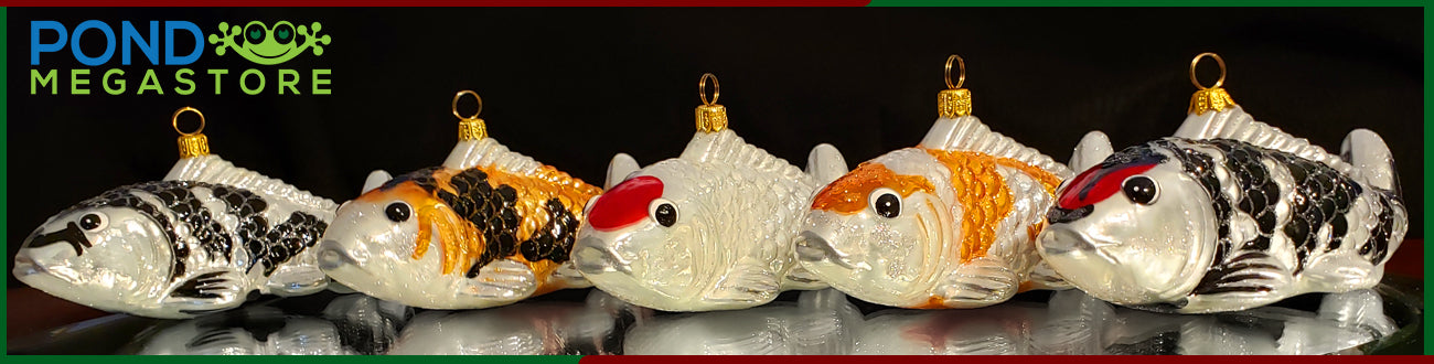 Koi Christmas Ornament Collection Pond Megastore