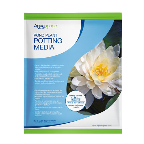 Aquascape Pond Plant Potting Media 10 lb bag (aquatic soil)