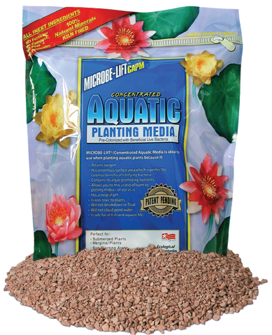 Microbe-LiftConcentrated Aquatic Planting Media/Soil  20 lb bag