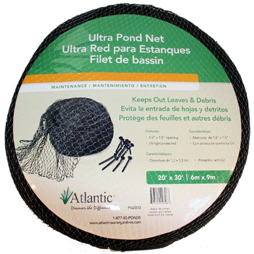Atlantic Ultra Pond Net Cover<br> (Multiple sizes)