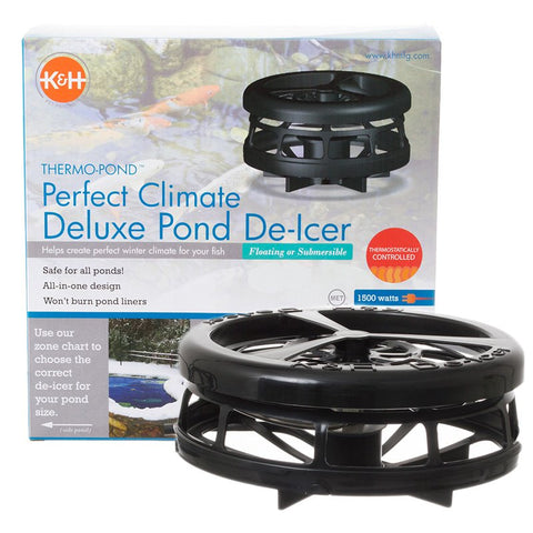 K and H Perfect Climate <br>Deluxe Winter Pond De-icer