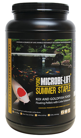 Microbe Lift Summer Staple <br>Koi Food (Choose Size)