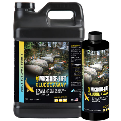 Microbe-Lift Sludge Away <br> multiple sizes
