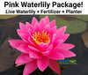 Pink Waterlily Kit  <br>  Pre-Potted, Pre-Grown  <br>