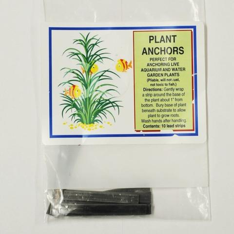 Plant Anchors/Weights  (10pack) <br> For Submerged & Oxygenating Plants
