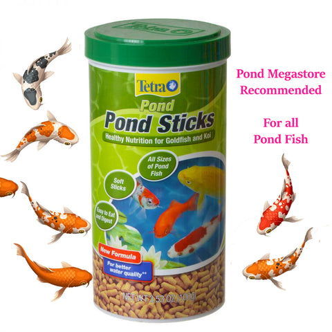 Tetra Pond Sticks <br> Fish Food for all Pond Fish<br>choose size