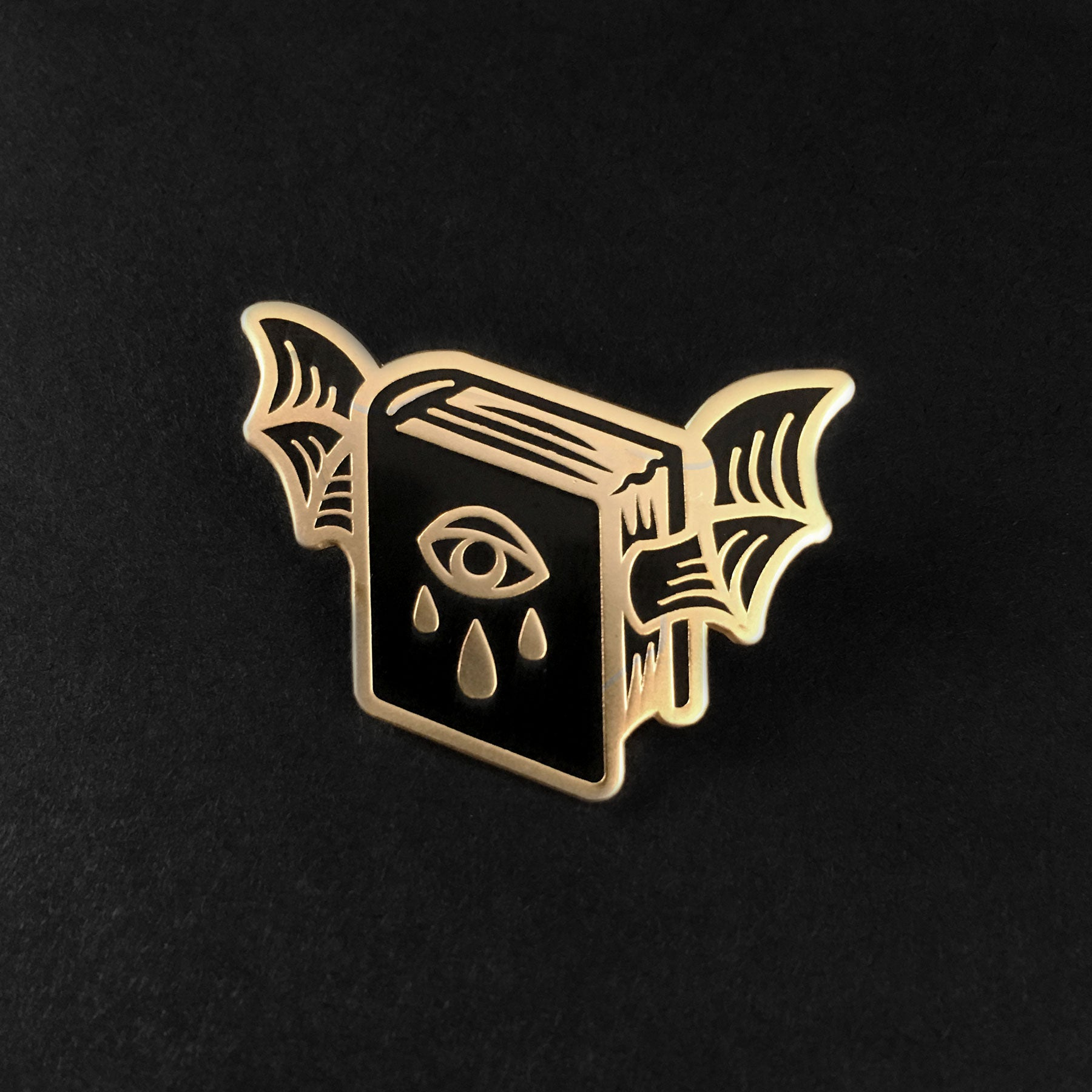 Book of Shadows Pin