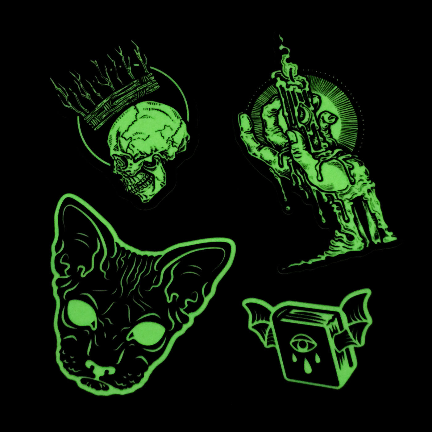 Glow in the Dark Sticker Pack