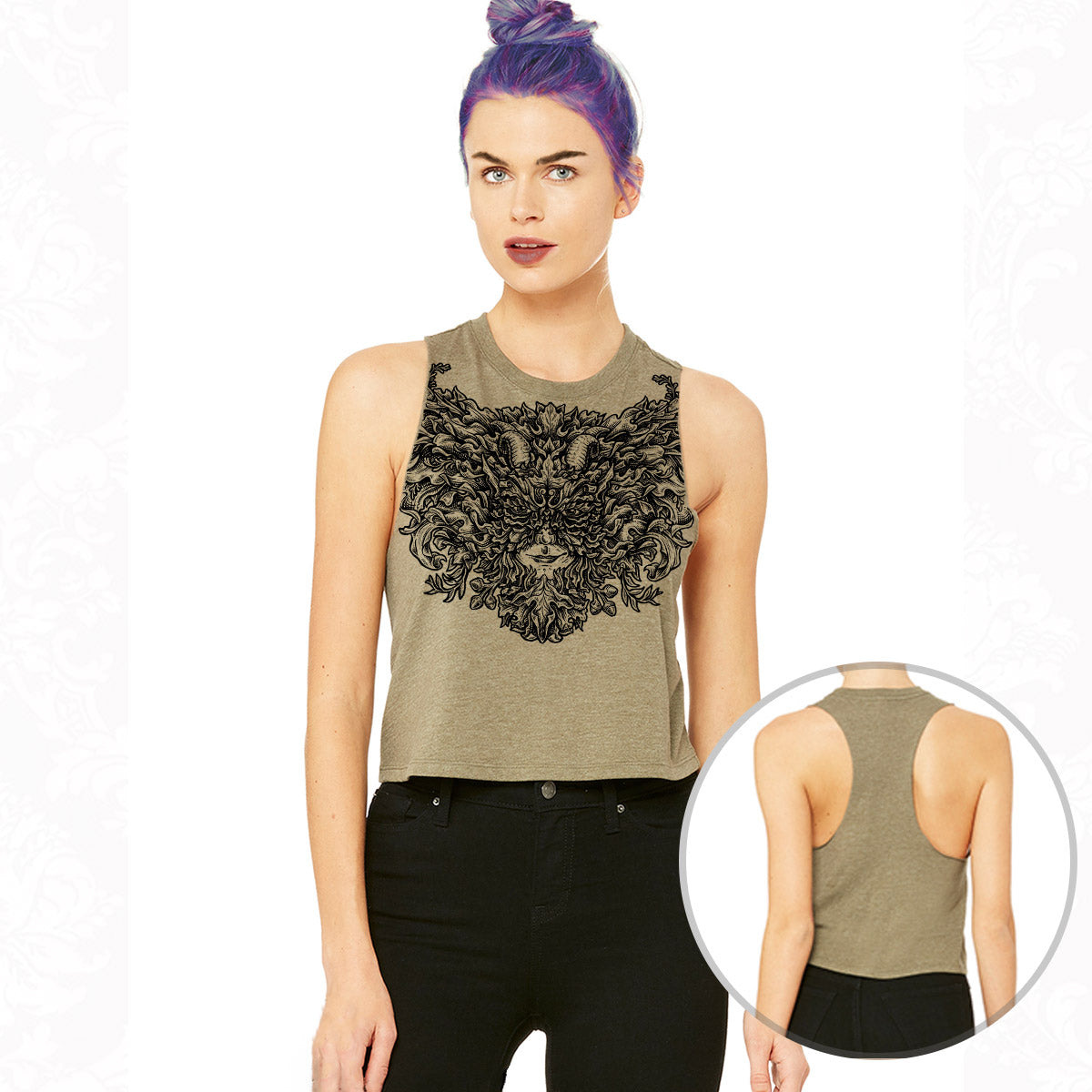 The Greenman Crop Tank