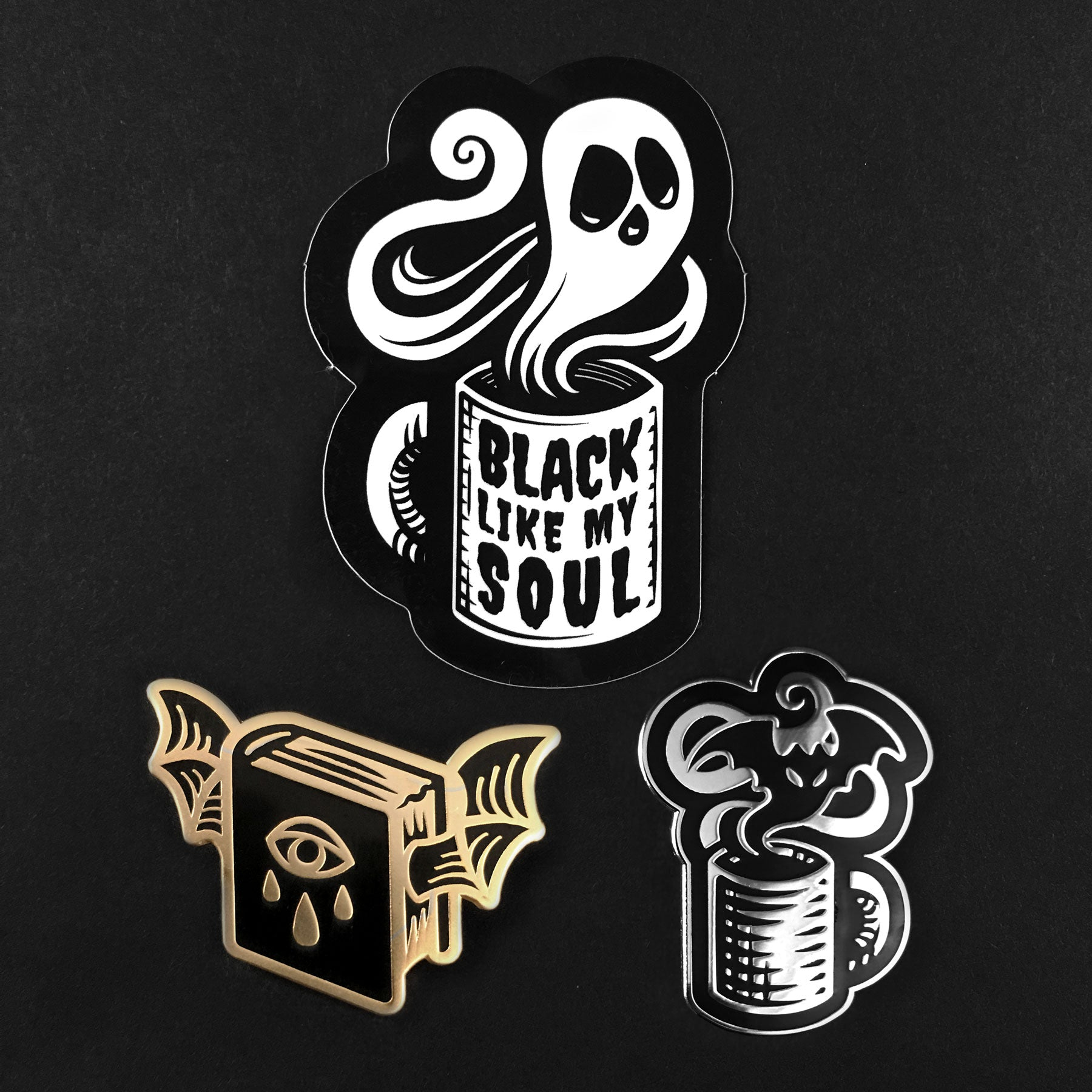 The Witch's Desk Pin Set