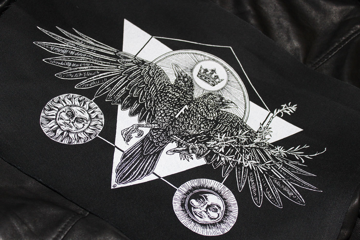 Huginn and Muninn Back Patch