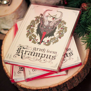 Krampus Greeting Card Box Set