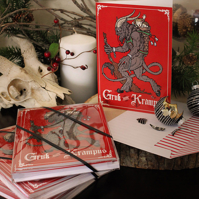 Gruss vom Krampus Card Box Set