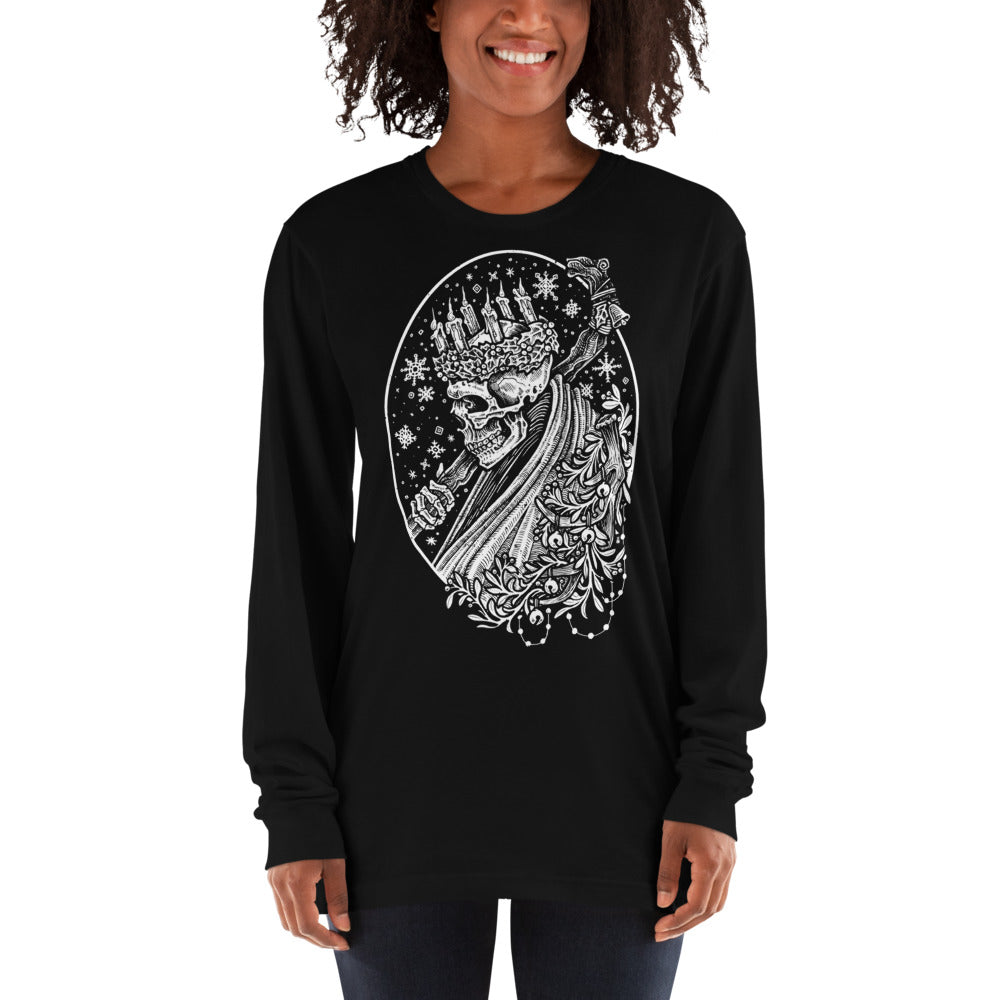The Ghost of Yule Long Sleeve Shirt