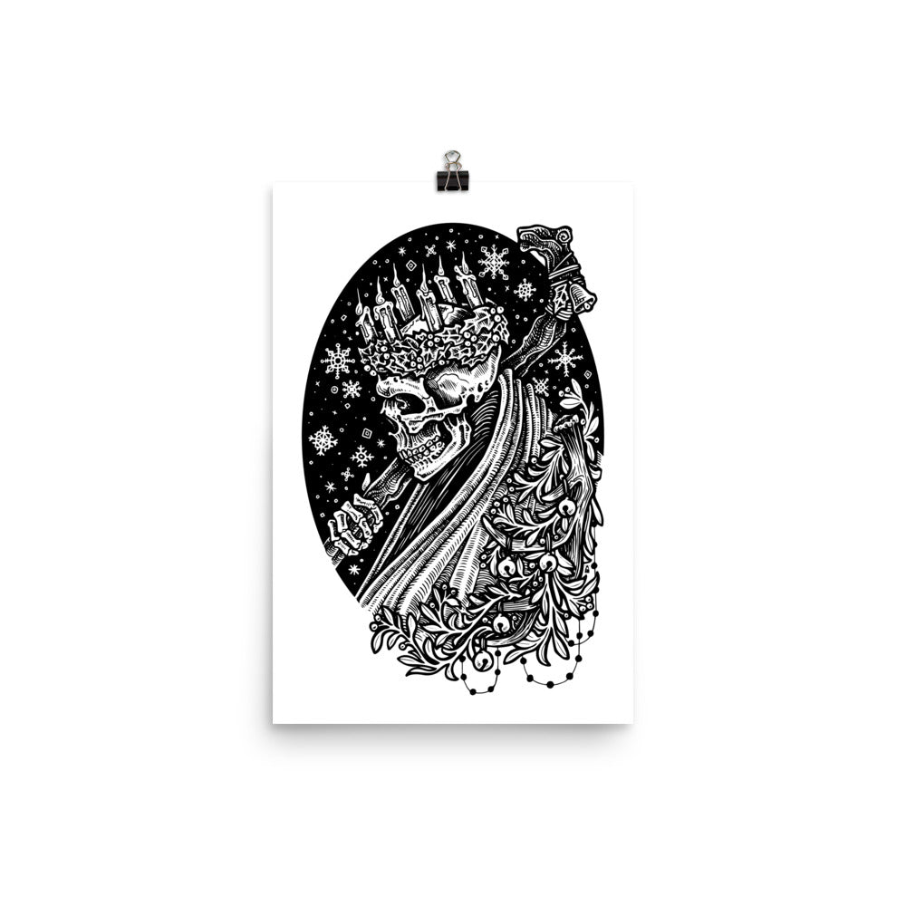 Ghost of Yule Poster Print