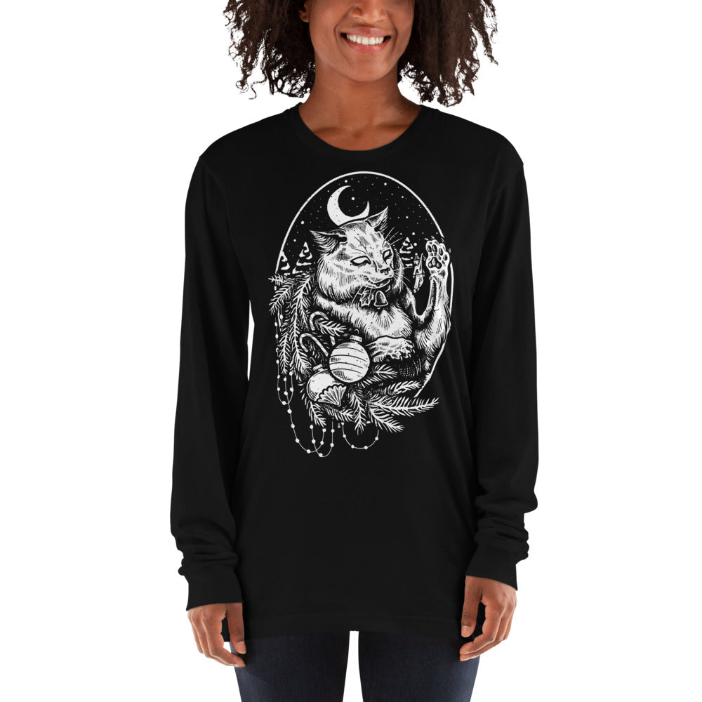 Yule Cat Long Sleeve Shirt