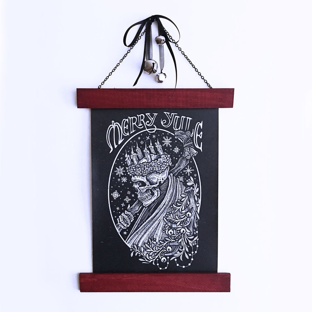 Ghost of Yule Wall Hanging
