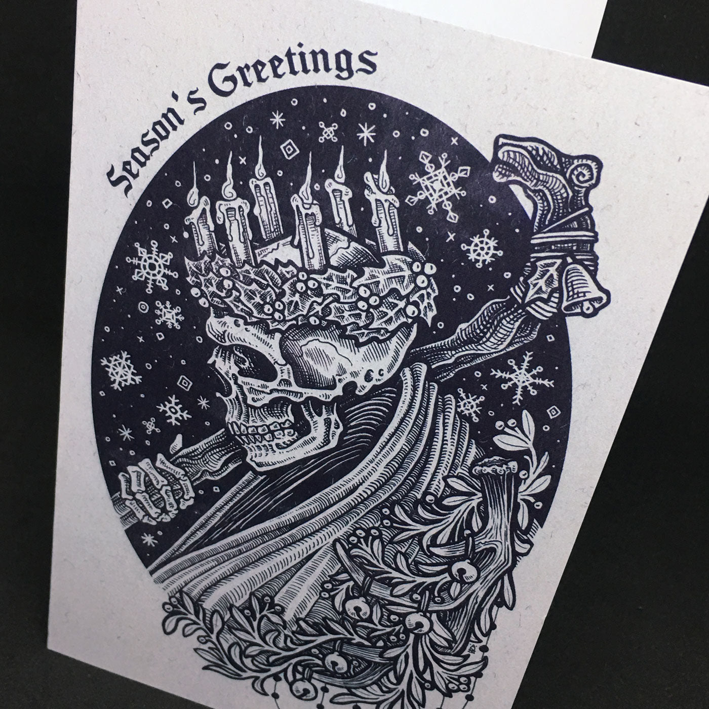 The Ghost of Yule Greeting Card