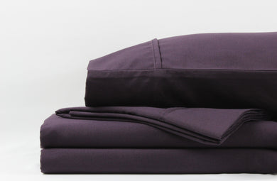1800 Series Eggplant Sheet Set