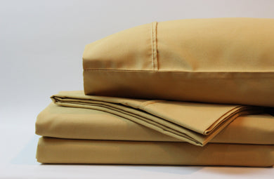 1800 Series Camel Sheet Set