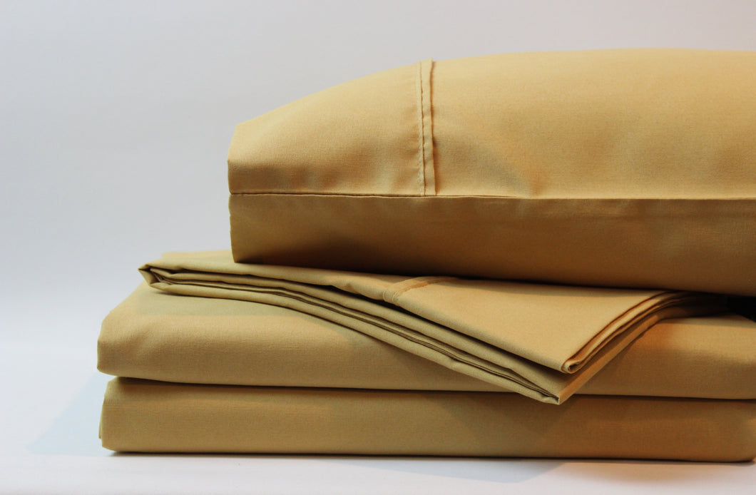 1800 Series Golden Rod Sheet Set
